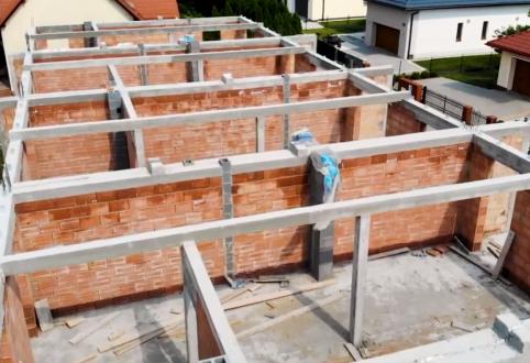 3 odcinek video dziennika budowy - prace na drugiej kondygnacji