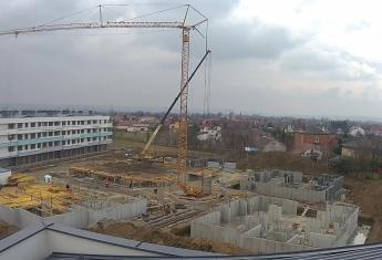 Prace na budowie nowego osiedla Strażacka IV etap dewelopera Szklane Tarasy trwają!