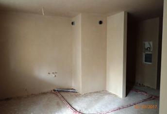 Prace na budowie nowych nieruchomości w Rzeszowie coraz bardziej zaawansowane - na kilku piętrach z nowymi apartamentami w Rzeszowie zrobione zostały już tynki ;)