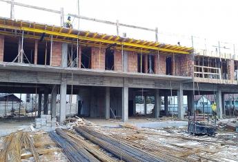 Szklany Tarasy informują, że I piętro inwestycji jest już wybudowane.