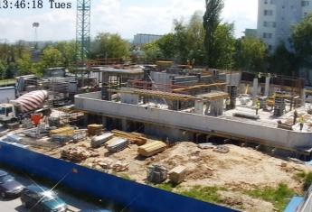 Tyle co zakończyliśmy I etap budowy garażu podziemnego inwestycji rzeszowskiej ST Tower, a już widać parter.