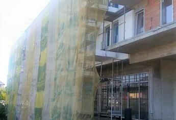 W inwestycji ZiG ZAk House rozpoczęto wykonywanie elewacji od strony zachodniej.