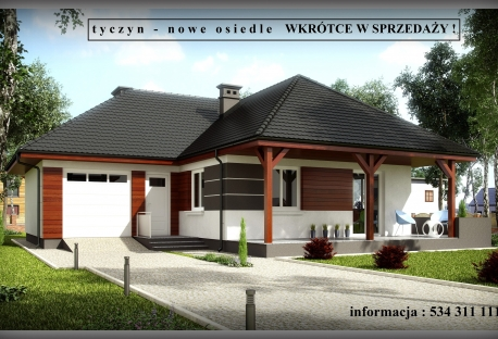 Osiedle 7 domów w Tyczynie