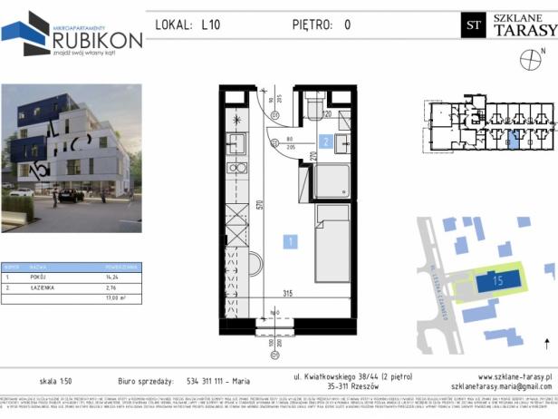 RUBIKON L10 - lokal z funkcją mieszkalną RUBIKON
