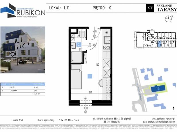 RUBIKON L11 - lokal z funkcją mieszkalną RUBIKON