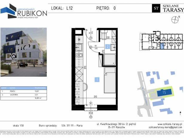 RUBIKON L12 - lokal z funkcją mieszkalną RUBIKON