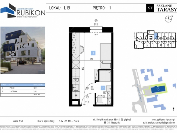 RUBIKON L13 - lokal z funkcją mieszkalną RUBIKON