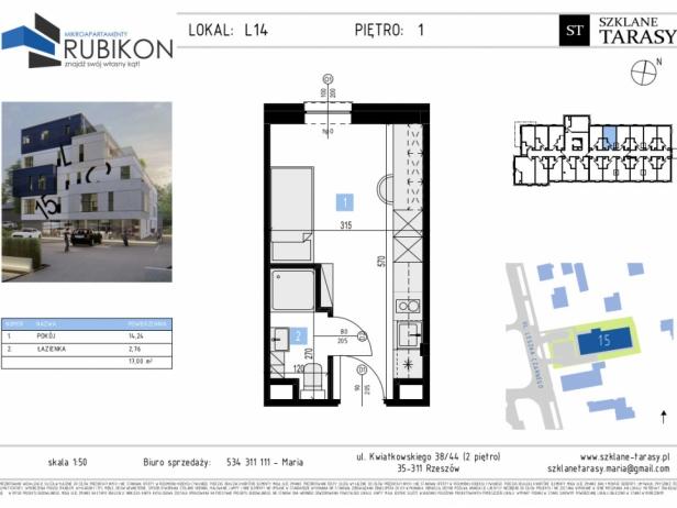 RUBIKON L14 - lokal z funkcją mieszkalną RUBIKON
