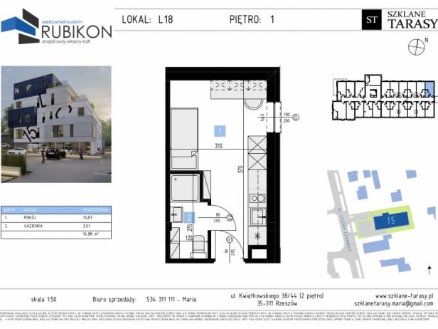 RUBIKON L18 - lokal z funkcją mieszkalną RUBIKON