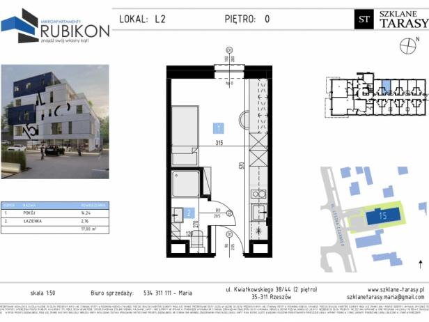 RUBIKON L2 - lokal z funkcją mieszkalną RUBIKON