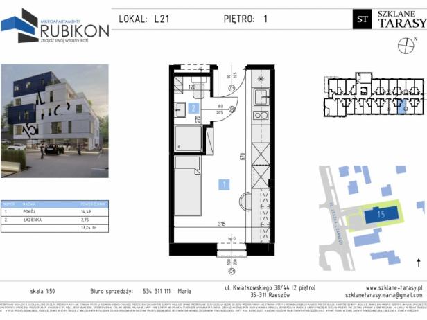 RUBIKON L21 - lokal z funkcją mieszkalną RUBIKON