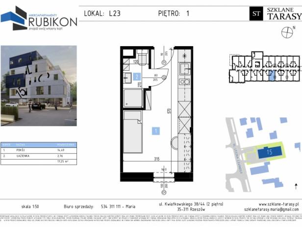 RUBIKON L23 - lokal z funkcją mieszkalną RUBIKON
