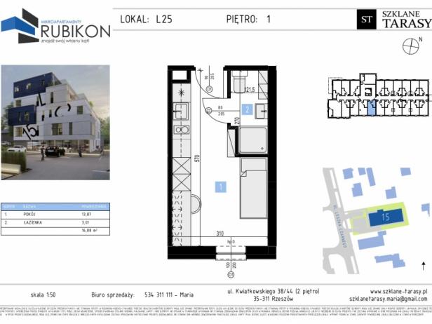 RUBIKON L25 - lokal z funkcją mieszkalną RUBIKON