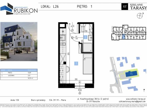 RUBIKON L26 - lokal z funkcją mieszkalną RUBIKON
