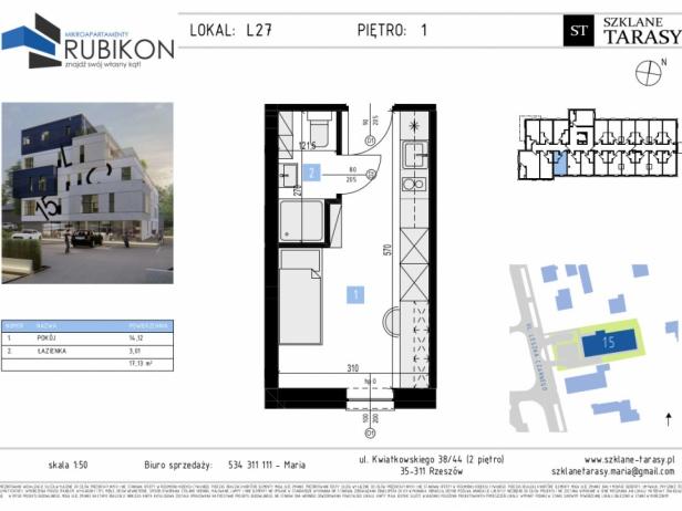 RUBIKON L27 - lokal z funkcją mieszkalną RUBIKON