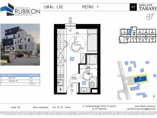 RUBIKON L32 - lokal z funkcją mieszkalną RUBIKON