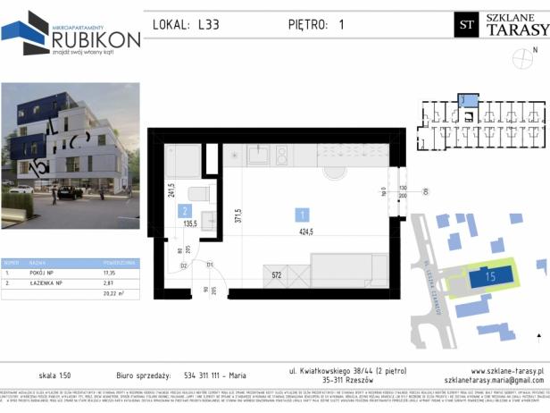 RUBIKON L33 - lokal z funkcją mieszkalną RUBIKON