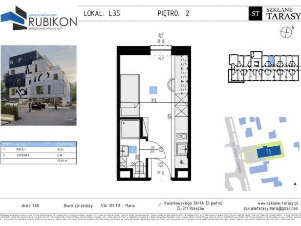 RUBIKON L35 - lokal z funkcją mieszkalną RUBIKON