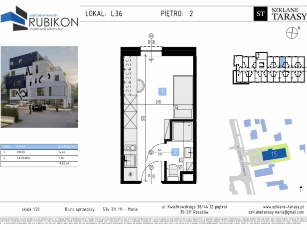 RUBIKON L36 - lokal z funkcją mieszkalną RUBIKON
