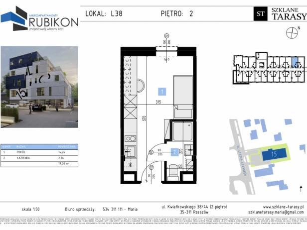 RUBIKON L38 - lokal z funkcją mieszkalną RUBIKON