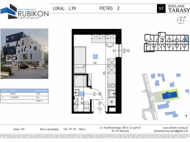 RUBIKON L39 - lokal z funkcją mieszkalną RUBIKON