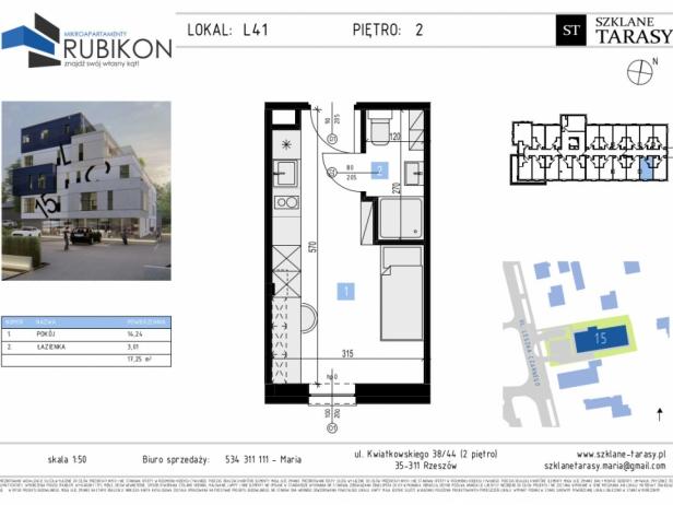 RUBIKON L41 - lokal z funkcją mieszkalną RUBIKON