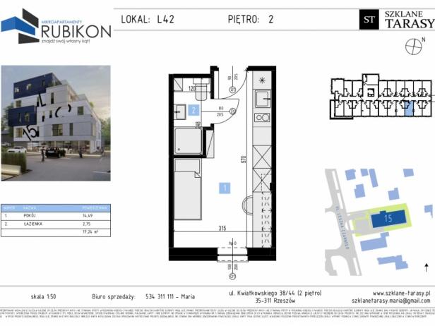 RUBIKON L42 - lokal z funkcją mieszkalną RUBIKON