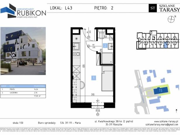 RUBIKON L43 - lokal z funkcją mieszkalną RUBIKON