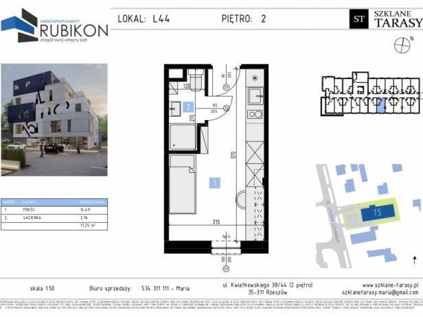RUBIKON L44 - lokal z funkcją mieszkalną RUBIKON