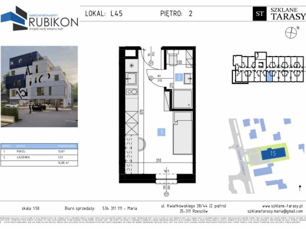 RUBIKON L45 - lokal z funkcją mieszkalną RUBIKON