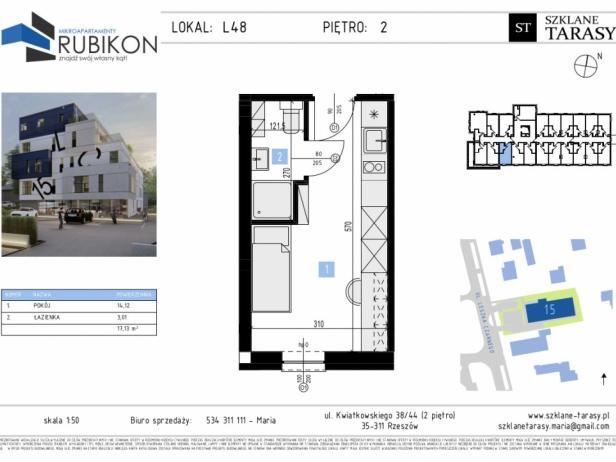 RUBIKON L48 - lokal z funkcją mieszkalną RUBIKON