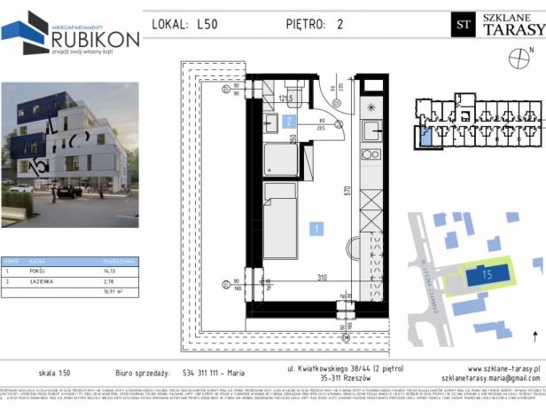 RUBIKON L50 - lokal z funkcją mieszkalną RUBIKON