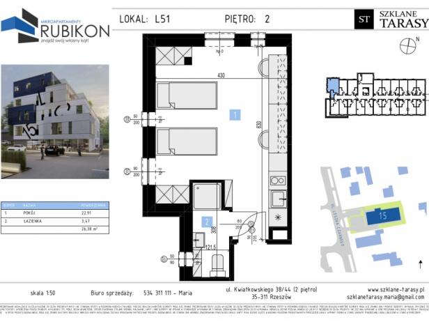 RUBIKON L51 - lokal z funkcją mieszkalną RUBIKON