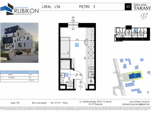 RUBIKON L56 - lokal z funkcją mieszkalną RUBIKON