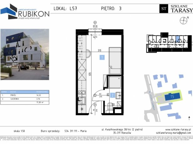 RUBIKON L57 - lokal z funkcją mieszkalną RUBIKON