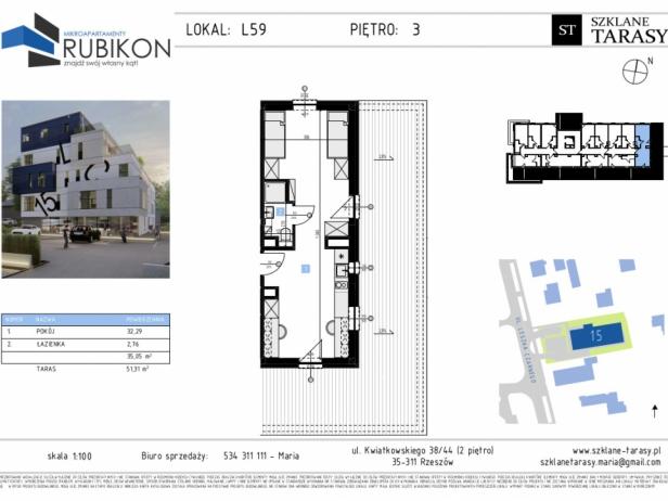 RUBIKON L59 - lokal z funkcją mieszkalną RUBIKON