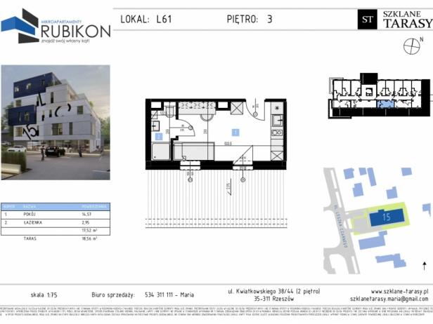 RUBIKON L61 - lokal z funkcją mieszkalną RUBIKON