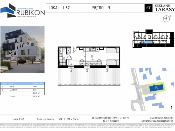 RUBIKON L62 - lokal z funkcją mieszkalną RUBIKON