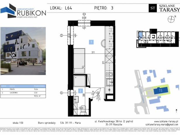 RUBIKON L64 - lokal z funkcją mieszkalną RUBIKON