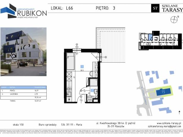 RUBIKON L66 - lokal z funkcją mieszkalną RUBIKON