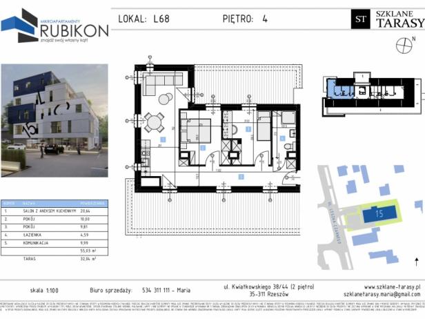 RUBIKON L68 - lokal z funkcją mieszkalną RUBIKON