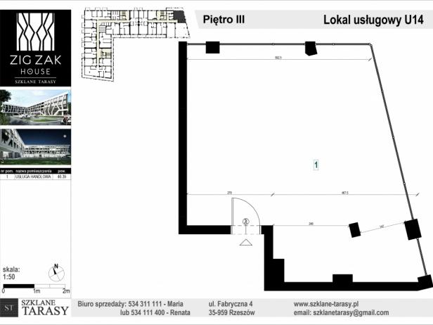 ZIG ZAK HOUSE - Nowoczesne mieszkania w Rzeszowie U14  - lokal pod wyjanem  ZIG ZAK HOUSE