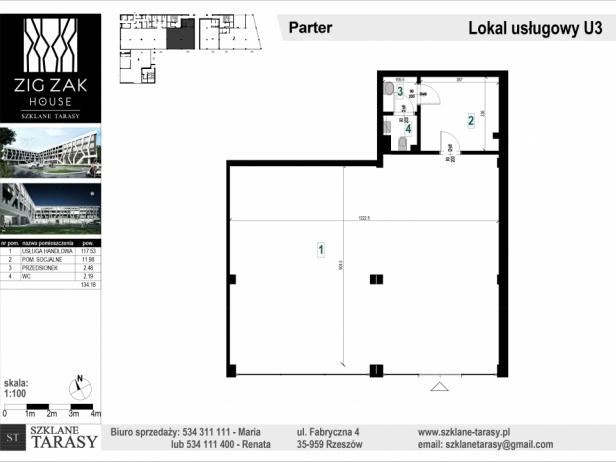 ZIG ZAK HOUSE - Nowoczesne mieszkania w Rzeszowie U3 - lokal pod wynajem  ZIG ZAK HOUSE