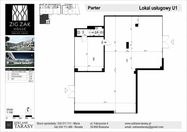 U1 - lokal usługowy ZIG ZAK HOUSE
